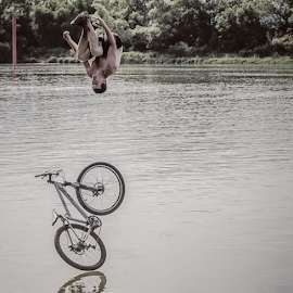 Somersault by Michel Lorente - Transportation Bicycles ( somersault, bicycle )