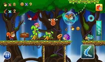 Screenshot of Squirrel Run