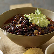 Ancho-Black Bean Chili