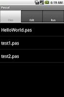 Screenshot of Pascal