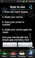 Screenshot of Crack Your Screen PRO