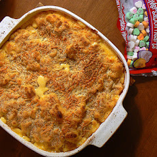 Ultimate Macaroni and Cheese With Ham Casserole