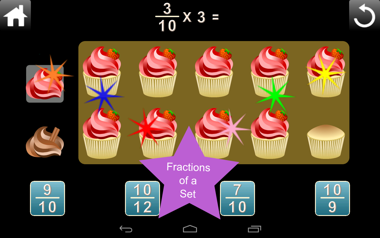 Fractions Screenshot 1