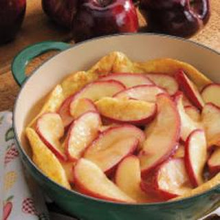 Apple-Honey Dutch Baby