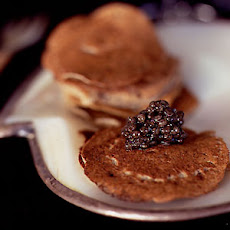Caviar with Blinis