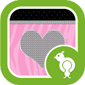 Pink Zebra Go Locker icon