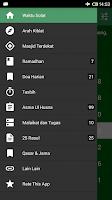 Screenshot of Waktu Solat Malaysia dan Kibla
