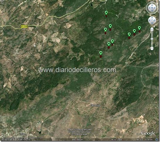 parque eolico santa olalla elect. Extremadura