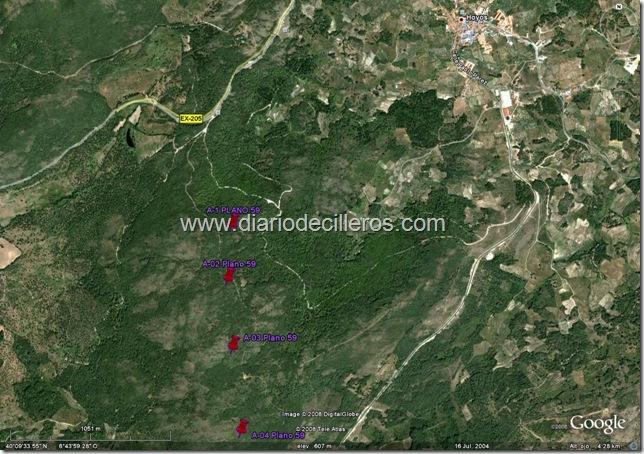 parque eolico Santa Olalla (Energias especiales de extremadura)