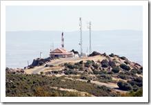 Panorámica del Cerro de Santa Brígida, desde el cual se reemiten las señales de televisión analógica y digital al casco urbano almodovareño.