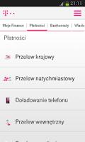 Screenshot of Usługi Bankowe