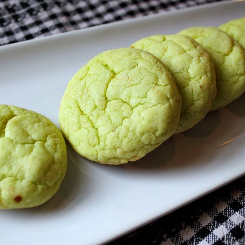 Pistachio Pudding Mix Cookies