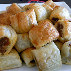 Easy Quick sausage rolls