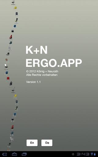 K+N Ergo App
