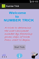 Screenshot of Number Trick