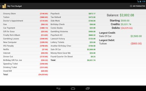 Budget Planner Pro - screenshot