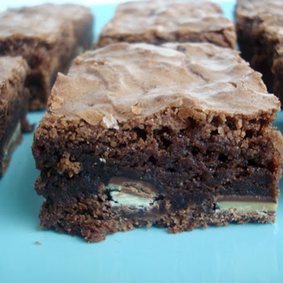 Andes Mint Brownies