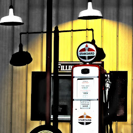 Gasoline by Tricia Scott - Digital Art Things ( gas, standard, wheel, gasoline, art, digital, oil )