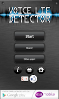Screenshot of Voice Lie Detector