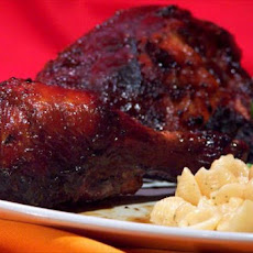 Grilled Chicken With Sweet Carolina Barbecue Sauce