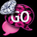 GO SMS - Diamond XoXo SMS icon