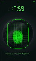 Screenshot of FingerPrint Scanner Joke