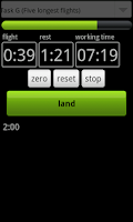 Screenshot of F3K Timer Pro