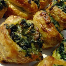 Spinach Puff (Yummy, Not Healthy)