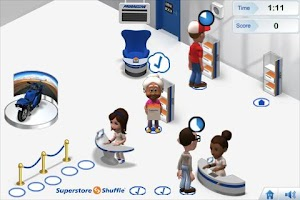 Screenshot of Superstore Shuffle