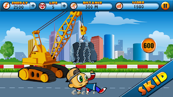 Screenshot of Crazy Jack - The Street Runner