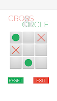 Screenshot of Cross and Circle