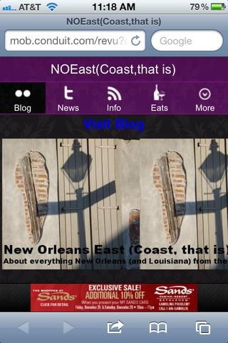 NewOrleans East Coast that is
