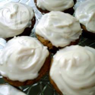 Carrot Muffins With Cream Cheese Icing
