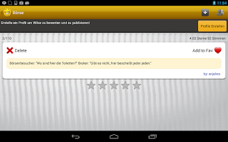 Screenshot of Witzopedia - German Jokes App