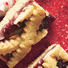 Raspberry Linzer Torte Bars