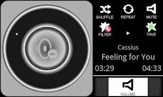 Screenshot of Car Music Player