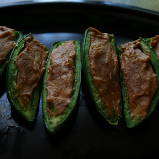 Curry Stuffed Jalapeños
