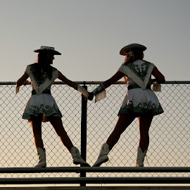 Dance Friends Forever by MollieRue Mayfield - Sports & Fitness Other Sports ( love, friends, high school, football, uniform, dance, photography, drill team )