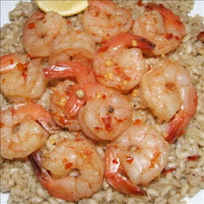 Spicy Beer-Boiled Shrimp