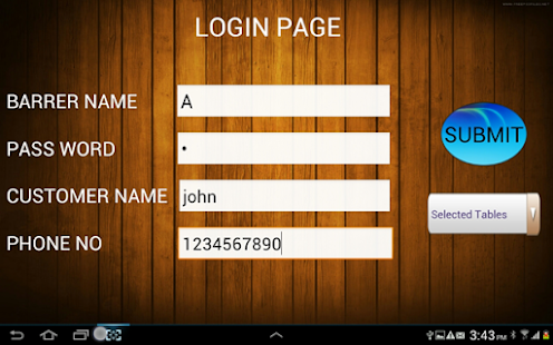 Hotel Management Application - screenshot