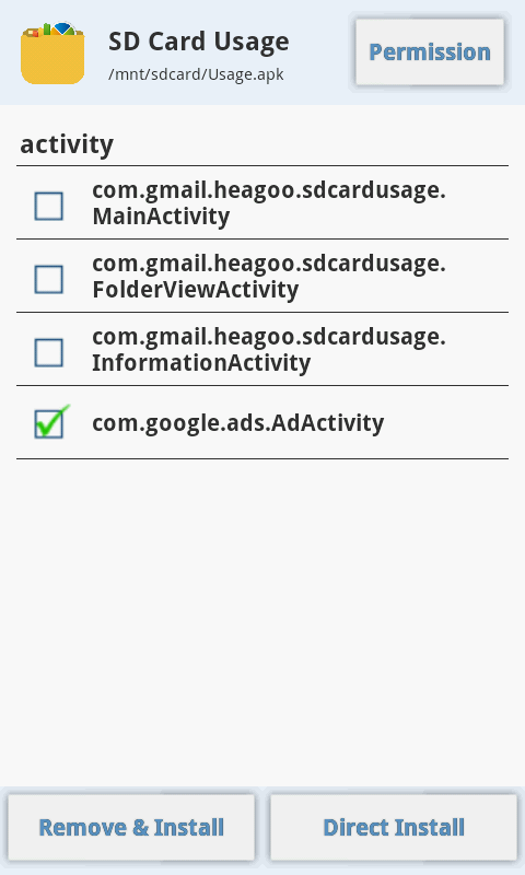 Adv Permission Manager (Pro) Screenshot 5