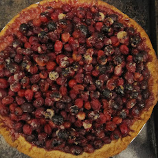 Cranberry Hazelnut Pie
