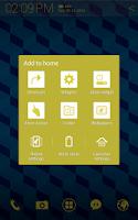 Screenshot of Cube Pattern Atom theme
