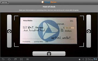 Screenshot of Virtual Wallet tablet by PNC