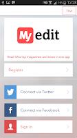 Screenshot of MyEdit