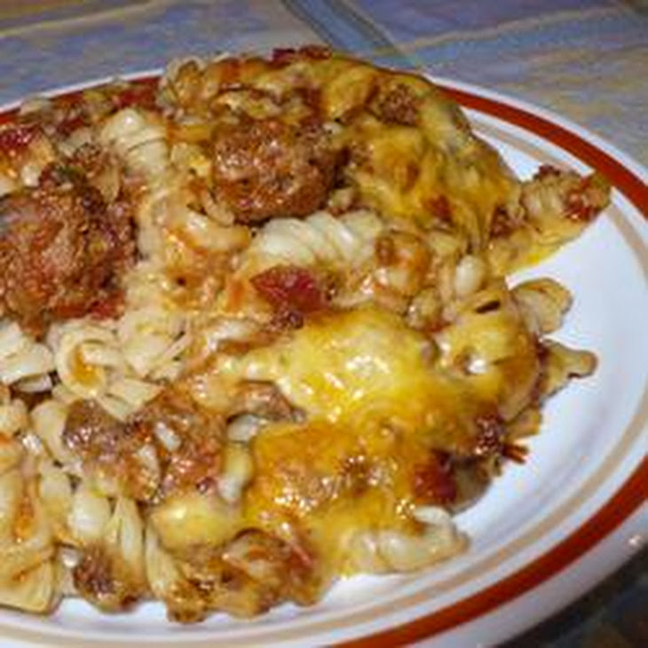 Johnny Marzetti Casserole Recipe | Yummly
