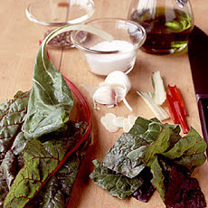 Wilted Swiss Chard