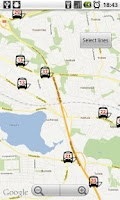 Screenshot of Tampere Bus Radar - No ads