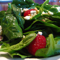 Raspberry-Turkey Salad