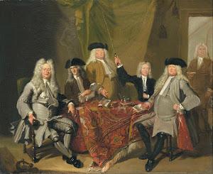 RIJKS: Cornelis Troost: painting 1724